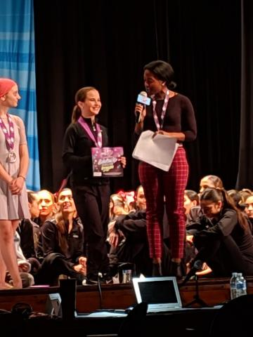 Ava, 1st place overall teen soloist at Turn It Up